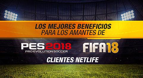 Los mejores beneficios para los amantes de PES2018 y FIFA 2018