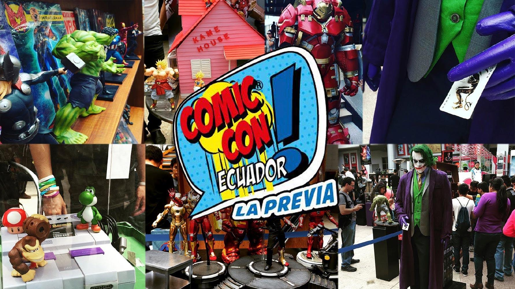 Lo más esperado del Comic Con Ecuador 2018
