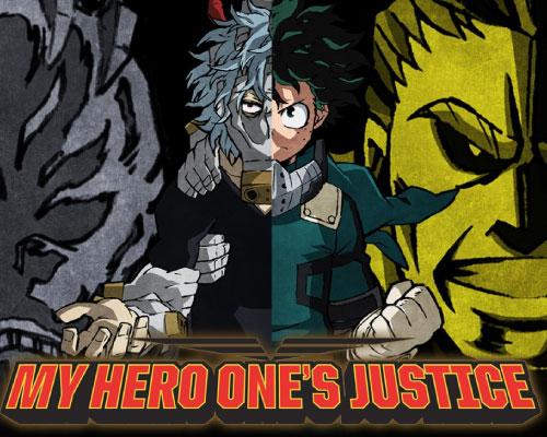 portada My Hero One's Justice